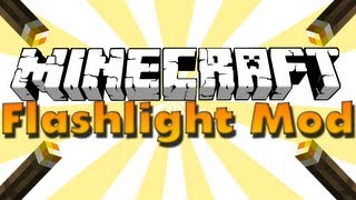 The Flash Light Mod [1.4.7] - Фонарик в minecraft!