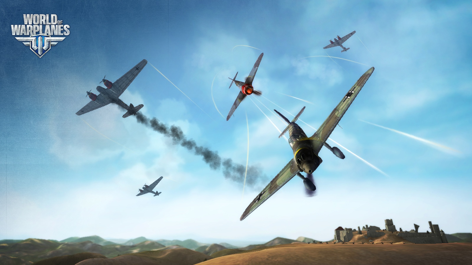 Старт ОБТ World of Warplanes!