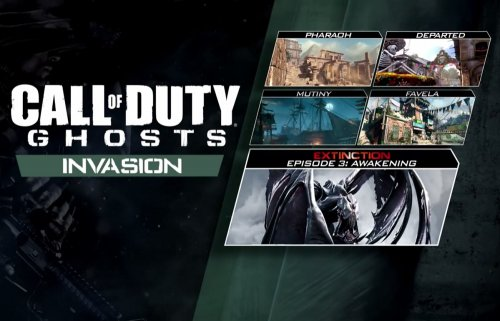 (Аддон) Call of Duty: Ghosts - Invasion - 3 июля