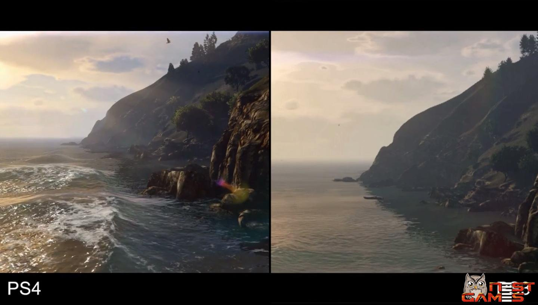 Сравнение графики в GTA 5 - PS 3 vs PS 4 ...: nestgames.ru/1812-sravnenie-grafiki-v-gta-5-ps-3-vs-ps-4.html