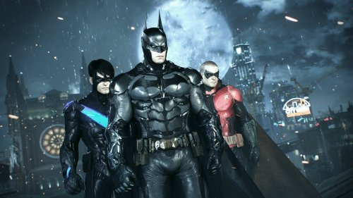Скриншоты Batman: Arkham Knight