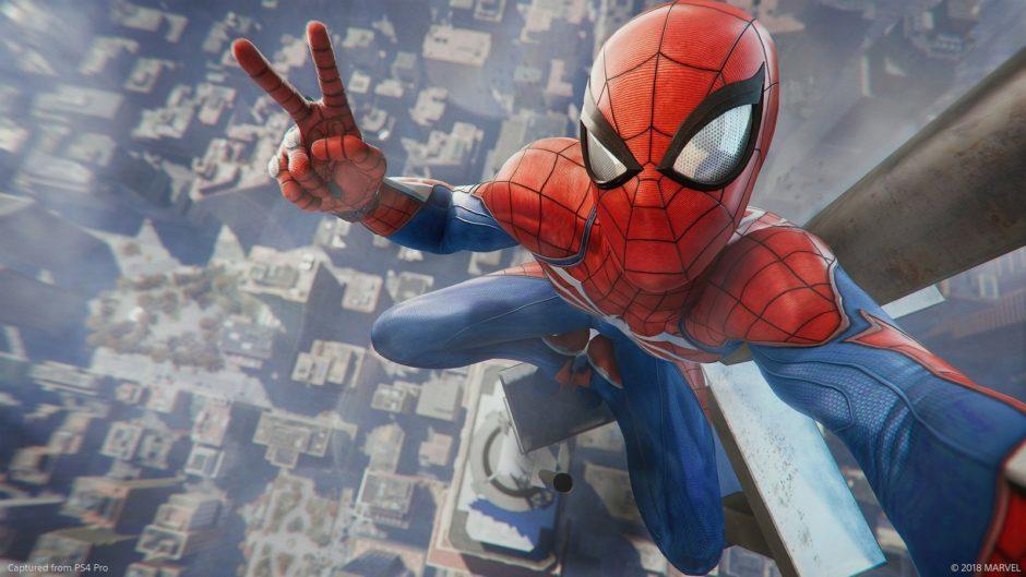 18 минут геймплея Spider-Man