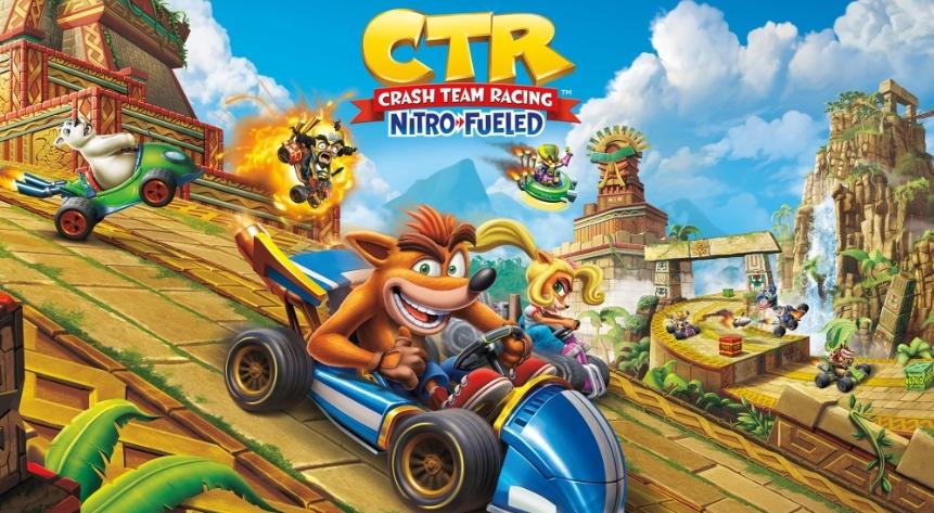 Геймплейный трейлер Crash Team Racing Nitro-Fueled