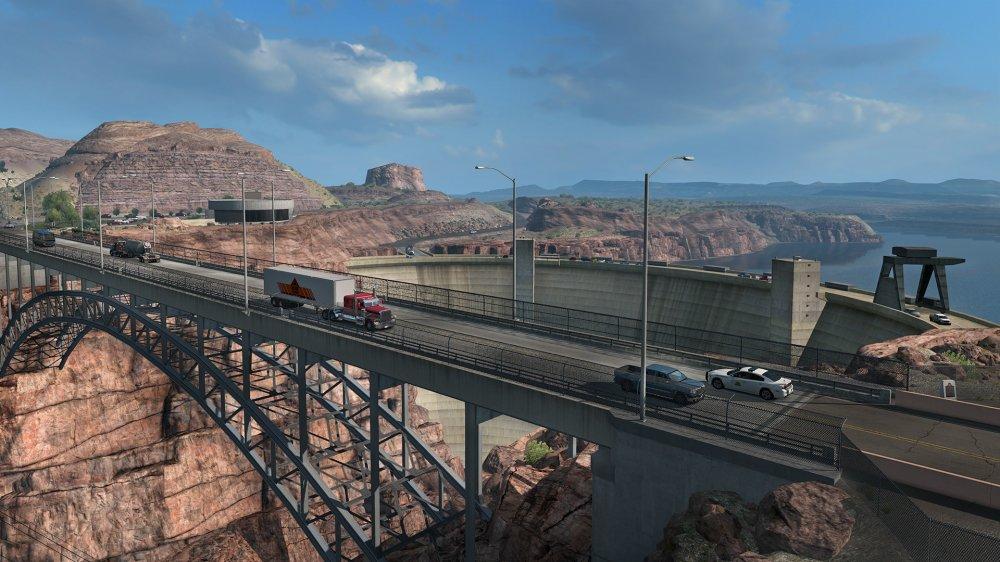 В American Truck Simulator добавят Юту