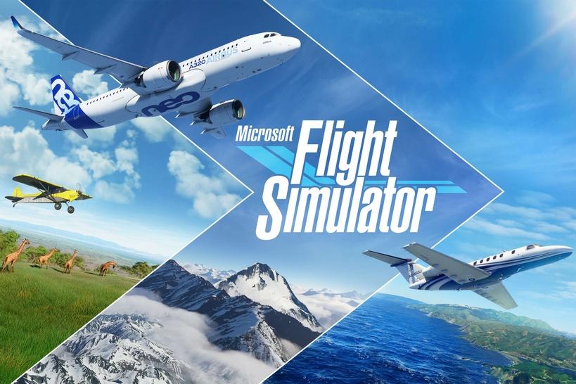 Видео об эволюции серии Microsoft Flight Simulator. От горстки пикселей до умопомрачительных красот