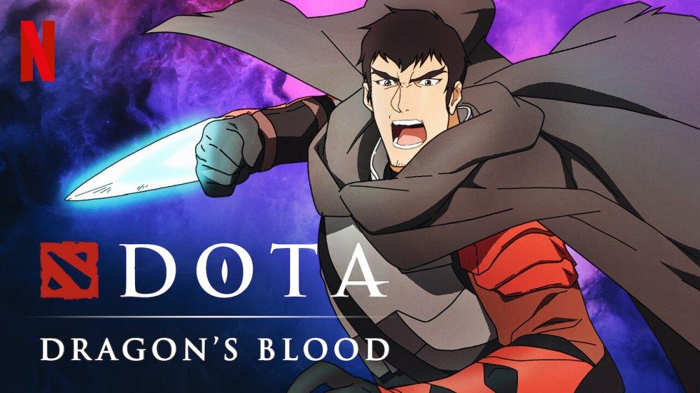 Dota Dragons Blood - На Netflix вышли все эпизоды аниме-сериала по игре Dota 2.